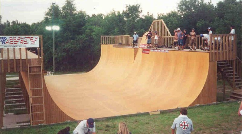 How We Built A Skateboard Half Pipe At Home